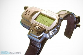 Das Handy fürs Handgelenk: Samsungs schräge Smartwatch von 1999